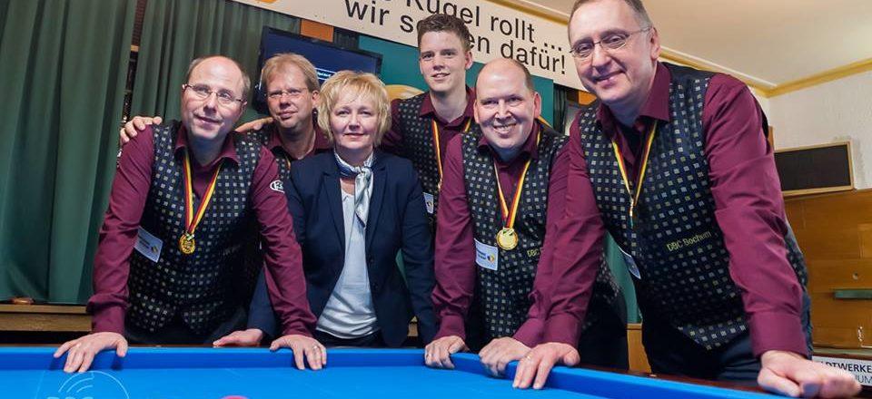 DBC Bochum zum 28. Mal Meister